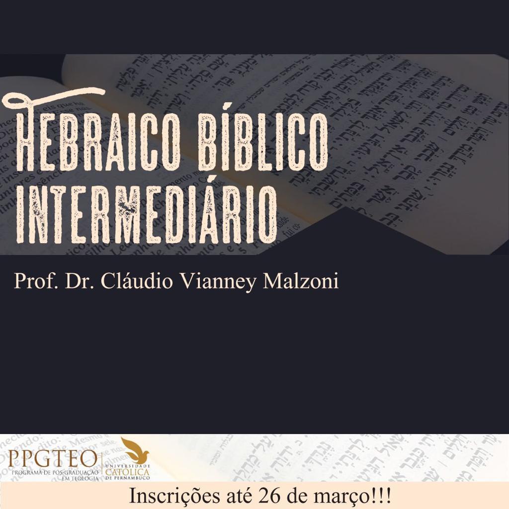 Hebraico Bíblico INTERMEDIÁRIO