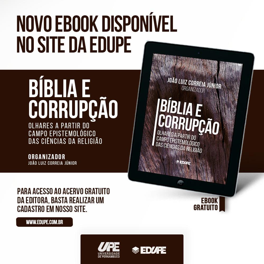 Novo E-book disponível no site da EDUPE